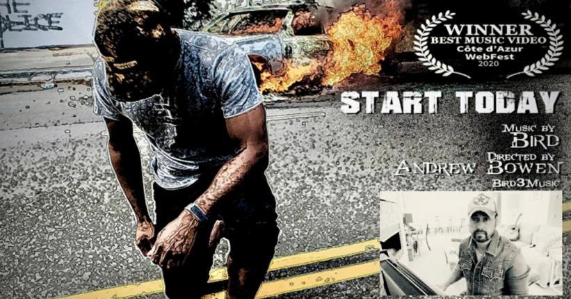 START TODAY* Wins Best Music Video Award @ Côte d'Azur Web Fest, Cannes